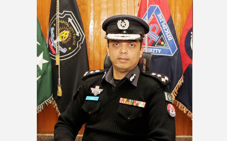 """Abbas Ahsan<br/> <p style=""""font-size:14px"""">Capital City Police Officer, Peshawar</p>"""