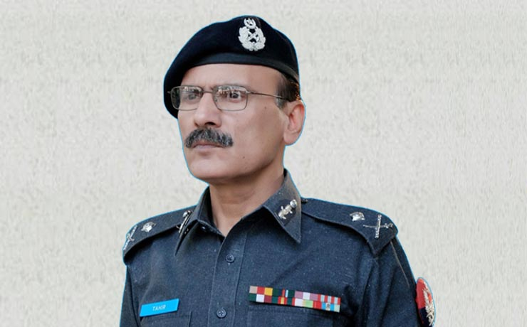 """Muhammad Tahir<br/><p style=""""font-size:14px"""">Inspectors General of Police, KP</p>"""