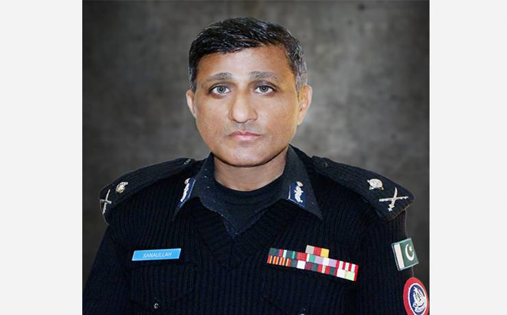 """Dr. Sanaullah Abbasi<br/><p style=""""font-size:14px"""">Inspector General of Police, KP</p>"""