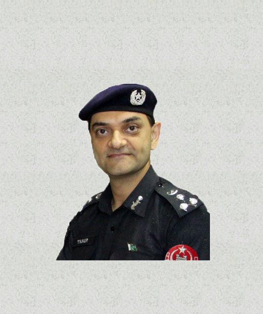 "Muhammad Tahir Khan<br/> <p style=""font-size:14px"">Capital City Police Officer Peshawar</p>"