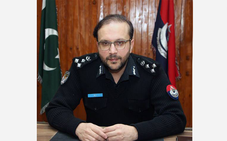 """Muhammad Ali Khan<br/> <p style=""""font-size:14px"""">Capital City Police Officer, Peshawar</p>"""