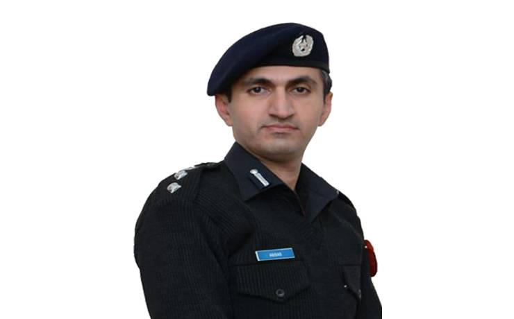"Abbas Majeed Khan Marwat <br/> <p style=""font-size:14px"">Chief Traffic Officer, Peshawar</p>"