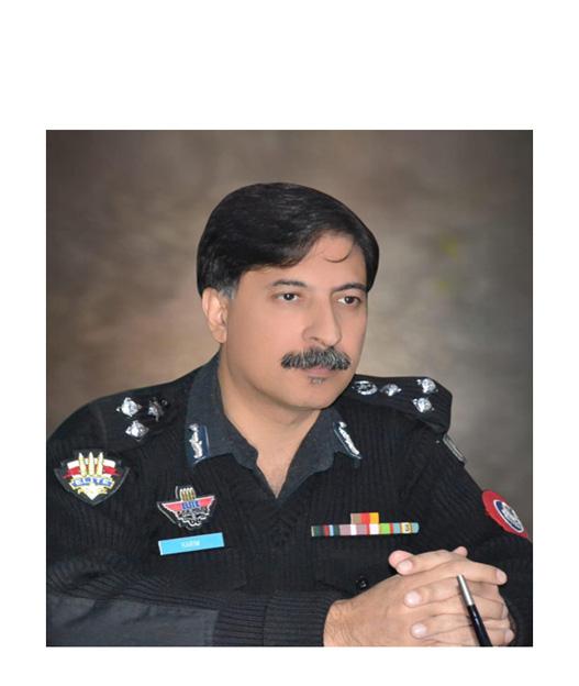 "Muhammad Karim Khan<br/> <p style=""font-size:14px"">Capital City Police Officer, Peshawar</p>"
