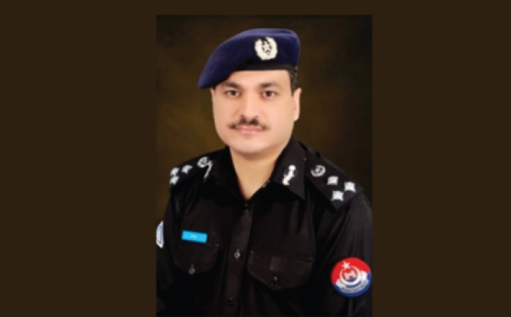 "Qazi Jamil Ur Rehman<br/> <p style=""font-size:14px"">Capital City Police Officer, Peshawar</p>"