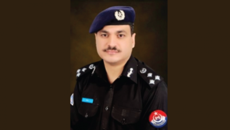 "Qazi Jamil Ur Rehman<br/> <p style=""font-size:14px"">Capital City Police Officer Peshawar</p>"