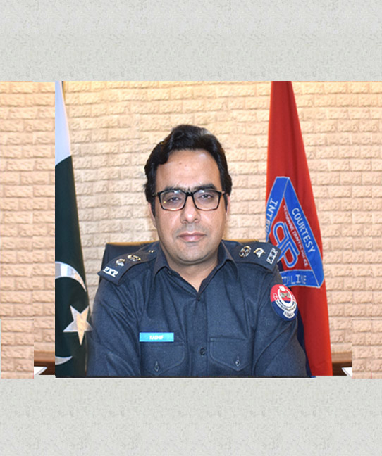 "Kashif Zulfiqar<br/> <p style=""font-size:14px"">Chief Traffic Officer, Peshawar</p>"
